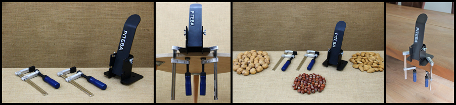 Nutcracker - Nut Crusher Steel with Clamps