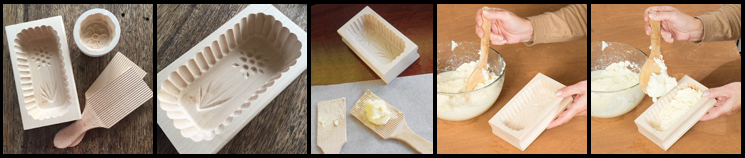 Wooden Butter Moulds